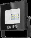 Прож. ЛЕД  10Вт 6,5К чер.800Лм OFL-10-6.5K-BL-IP65-LED ОНЛАЙТ 71688