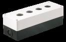 Корпус  КП 104 для кнопок 4места белый ИЭК