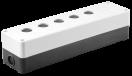 Корпус  КП 105(6) для кнопок 5(6)мест белый ИЭК