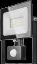 Прож. ЛЕД  30Вт (датчик движ.) 4К чер.2400Лм OFL-02-30-4K-BL-IP65-LED-SNRA ОНЛАЙТ 61984