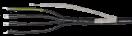 Муфта ПКВ(Н)тпбэ 4х150/240 б/н пайка ПВХ/СПЭ изоляция 1кВ IEK